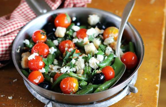 Roasted Green Bean, Tomato and Feta Salad – Recipe Critique