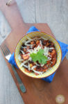 Black Bean and Sweet Potato Crock Pot Bake