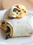 Breakfast Burrito Omelet