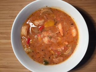 Cajun Gumbo with Shrimp and Sausage