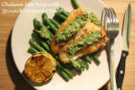 Chilean Sea Bass with Spinach Avocado Pesto