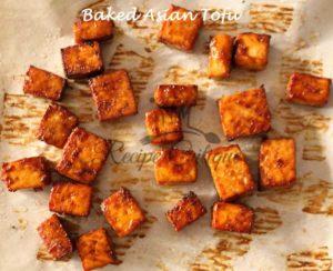 Baked Asian Tofu