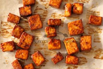 Baked Asian Tofu