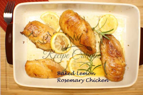 Baked Lemon Rosemary Chicken