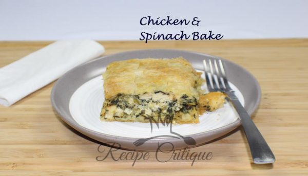 Chicken & Spinach Bake