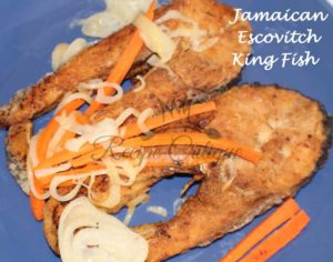 Jamaican Escovitch King Fish