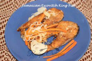 Jamaican Escovitch King Fish