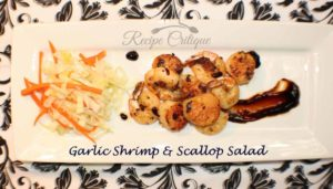 Garlic Shrimp & Scallop Salad