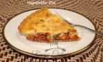 Healthy Vegetable Pie