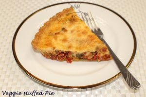 Healthy Veggie Stuffed Pie