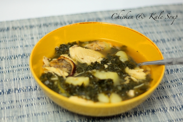 Hearty Kale and Chicken Soup Recipe