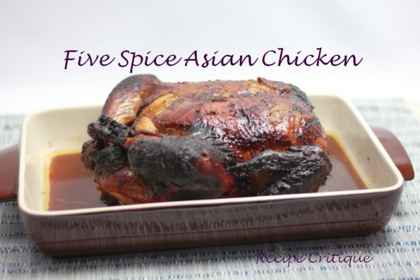 Oven Roasted Five Spice Asian Chicken