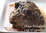 Roast Leg of Lamb with Garlic and Rosemary