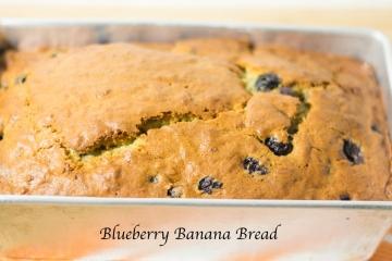 Easy Blueberry Banana Bread Recipe