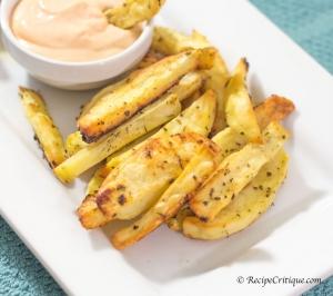 Crispy Seasoned Homemade Fries