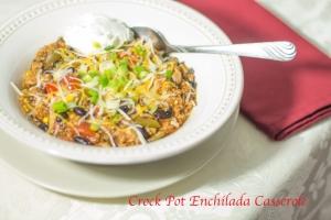 Crock Pot Enchilada Casserole Recipe