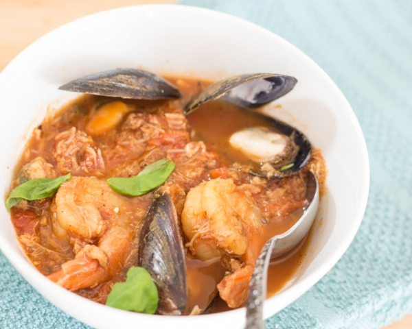 Hearty Seafood Cioppino