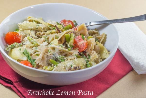 Artichoke Lemon Pasta