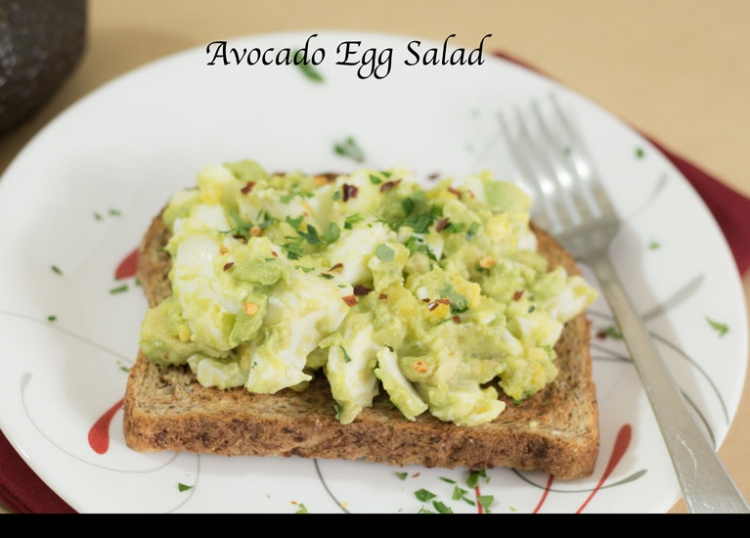 Easy Avocado Egg Salad Recipe