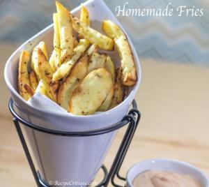 Crispy seasoned fries