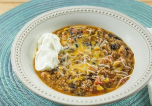 Crock Pot Enchilada Casserole