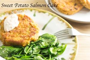 Sweet Potato Salmon Cake