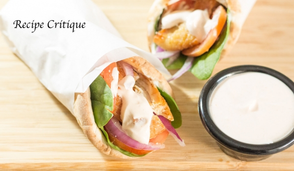 Chicken Pita Wraps