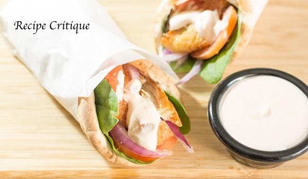 Chicken Pita Wraps