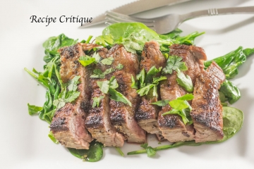 Garlic Ginger Flank Steak