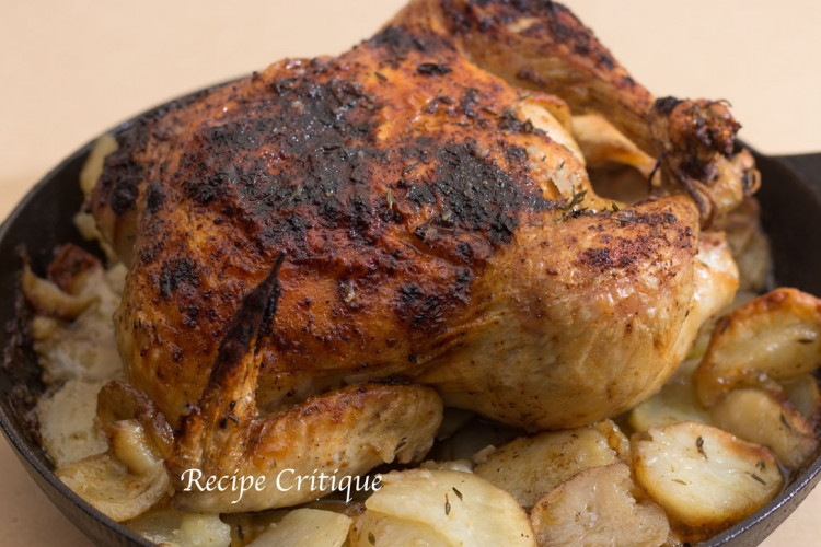 Oven Roast Chicken and Potatoes