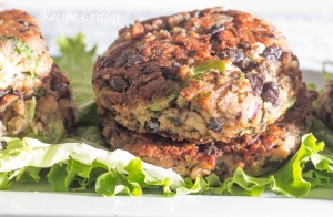 Baby Bella, Black Bean & Broccoli Burgers