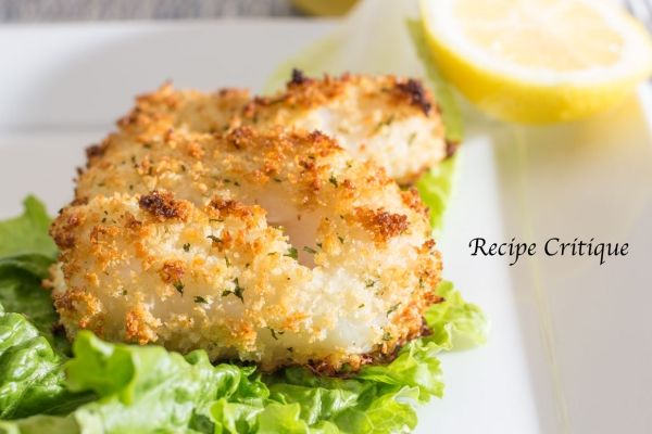 Panko Crusted Cod Recipe