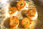 Easy Pan Seared Scallops in a Lemon Garlic Butter Sauce