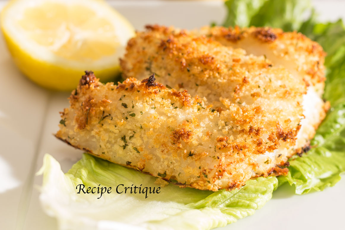 Oven Baked Panko Crusted Cod Recipe Recipe Critique