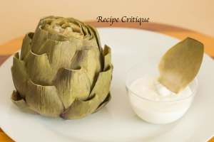 Easy Artichoke Recipe with Dipping Sauce