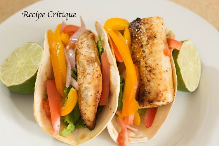 Mahi Mahi Fish Taco Recipe with a Sriracha Lime Yogurt Sauce