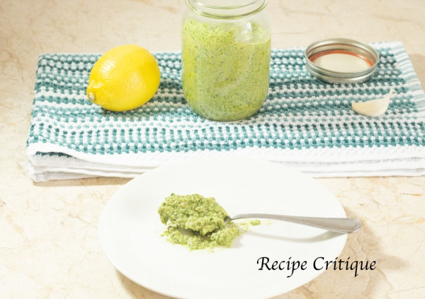 www.recipecritique.com Basic Basil Pesto