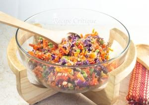 www.recipecritique.com Asian Quinoa Salad with Edamame