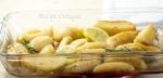 www.recipecritique.com lemon rosemary potato wedges