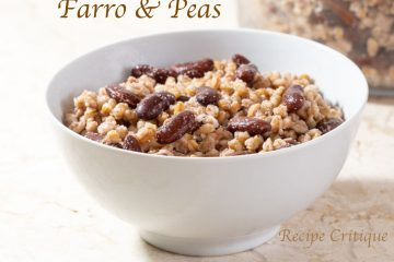 Jamaican-Style Farro & Peas