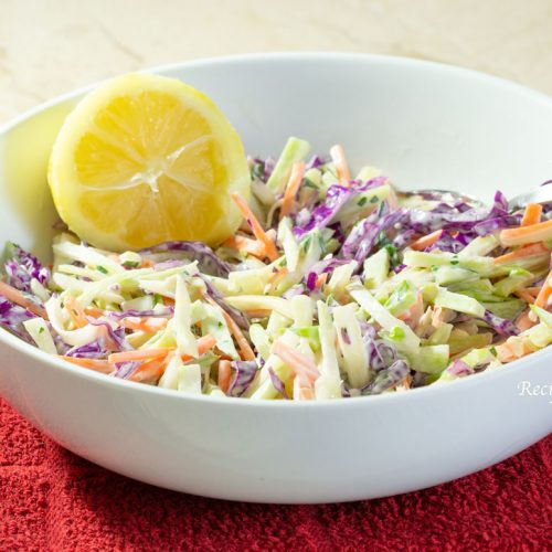 Easy, Fresh and Crunchy Broccoli Slaw